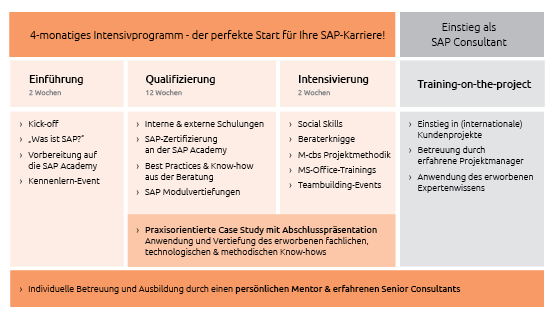 Perspektiven nach dem studium der wirtschaftsinformatik for Sap junior berater jobs